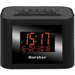 Karcher DAB 2420 Radiowecker UKW Schwarz