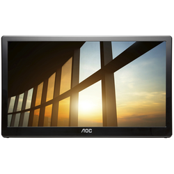 AOC I1659FWUX - 40 cm (15.6 Zoll), tragbarer LED-Monitor, IPS-Panel, Full HD, USB 3.0