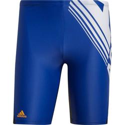 ADIDAS Herren Colorblock Fitness Jammer-Badehose Blau