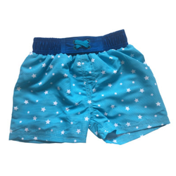 DIMO-TEX Badeshorts Stars Blau