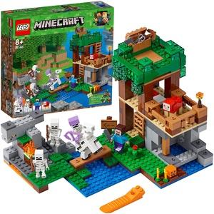 LEGO Minecraft Die Skelette kommen! (21146) Minecraft Minifiguren und Spielzeug für Kinder