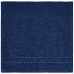 Dyckhoff Seiftuch ''Kristall'' Marine - Blau 30 x 30 cm