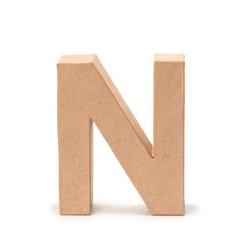 VBS Deko-Buchstaben Papp-Buchstabe, 17,5 cm hoch 14.0 cm x 17.5 cm x 5.5 cm