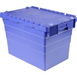 VISO DSW 5541 Klappdeckelbox (B x H x T) 600 x 416 x 400mm Blau 1St.
