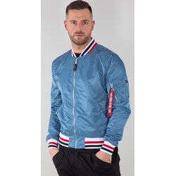 Alpha Industries MA-1 LW Tipped Jas, blauw, S