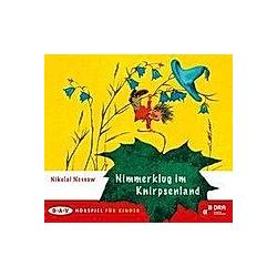 Nimmerklug im Knirpsenland  1 Audio-CD - Hörbuch