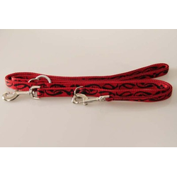 Hundeleine Keltik | Doppelgenäht | weiches PA (Nylon) | Leine 2,5 x 220 cm