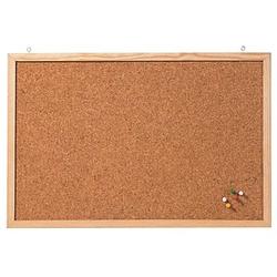 FRANKEN Pinnwand 80,0 x 60,0 cm Kork braun