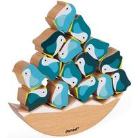 Janod Spiel, WWF® Schaukel-Pinguine, FSC®-Holz aus gewissenhaft bewirtschafteten Wäldern