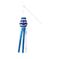 Elliot Flug-Drache Windrabauken - Meer & Mehr, blau/weiß, Windsack