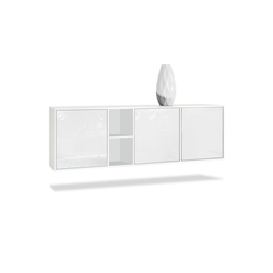 Vladon Sideboard Cuba 35 cm x 53 cm x 182 cm