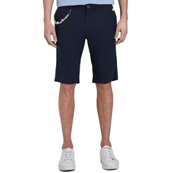 TOM TAILOR Shorts mit Schlüsselkette blau 32