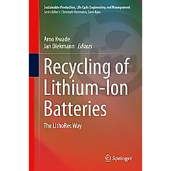 Recycling of Lithium-Ion Batteries - Buch