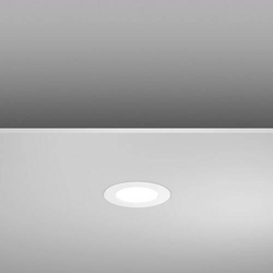 RZB Toledo Flat LED/5W-3000K D14 901451.002 LED-Einbaupanel Weiß