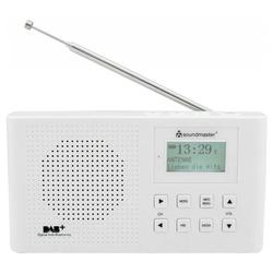 Soundmaster DAB160 Digitalradio DAB+ und UKW-RDS Radio 1200 mA Li-Io Akku Digitalradio (DAB)