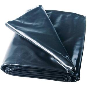 Heissner Teichfolie PVC schwarz, Stärke 0,5 mm von 6-48 m2 6 x 4 m