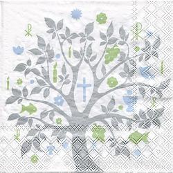 """Papierservietten """"Baum Kommunion"""""""