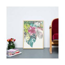 Dot On Malvorlage dot on art - tropic, 50 x 70 cm