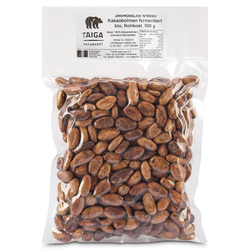 Taiga Naturkost - Kakaobohnen - Bio - Rohkost-Qualität - 500 g