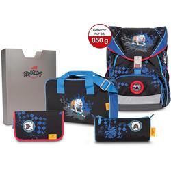 DerDieDas® Schulrucksack ErgoFlex XL - Skate Dog (Set)