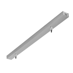 Viga Deckenprofil, LED, 140 cm, silber matt