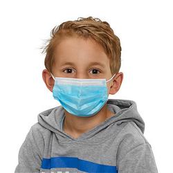 50 St. medizinischer Mundschutz für Kinder   EN 14683 Typ II R