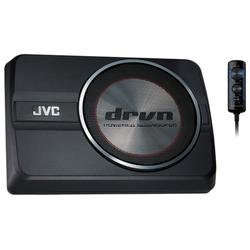 JVC Subwoofer (JVC CW-DRA8 - Aktivwoofer Untersitz)