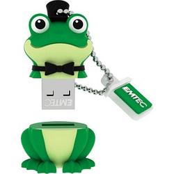 EMTEC USB-Stick Animalitos Crooner Frog 16 GB