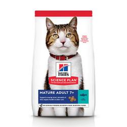 Hill's Mature Adult 7+ Thunfisch Katzenfutter 3 x 1,5 kg