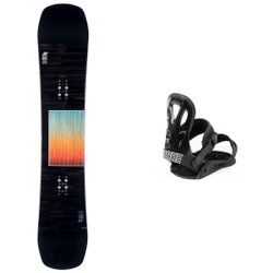 K2 Snowboard - Pack Afterblack 2021 - Snowboard Sets inkl. Bdg.