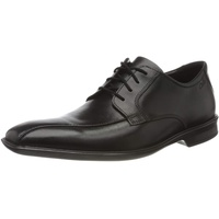 CLARKS Bensley Run 261495967 Black Leather, Größe: 45