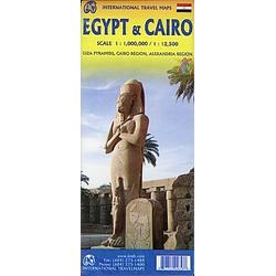 Egypt / Ägypten & Cairo 1:1.000.000 / 1:12.500 - Buch