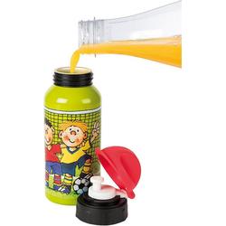 Lutz Mauder Verlag Trinkflasche Trinkflasche Fritz Flanke, 400 ml grün