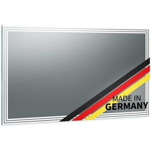 Spiegel ID Arella Design: LED BADSPIEGEL mit Beleuchtung - jetzt konfigurieren - Made in Germany - Auswahl: (Breite) 40 cm x (Höhe) 60 cm - Modell: 2201004 - LED Lichtfarbe: warmweiß