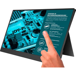 Joy-it Joy-View 13 Touchscreen-Monitor EEK: A+ (A++ - E) 33.8cm (13.3 Zoll) 1920 x 1080 Pixel 16:9 U