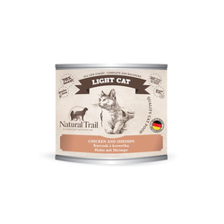 5x200g  + 200g GRATIS Natural Trail LIGHT CAT  Super Premium Nassfutter für Katzen Katzenfutter