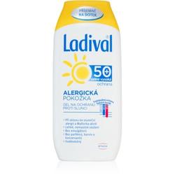 Ladival Allergic schützende Gel-Creme zum Bräunen gegen Sonnenallergie SPF 50+ 200 ml