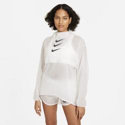 Nike Run Division verstaubare Laufjacke für Damen - Weiß, size: M