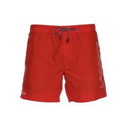 Lacoste Badehose Sportswear rot S