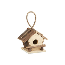 relaxdays Vogelhaus Kleines Vogelhaus zum Aufhängen