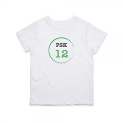 """Kinder T- Shirt zum 12.Geburtstag """"FSK 12"""""""