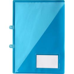 Angebotsmappen Einlegemappen A4 trans. blau -10 Einlegemappen
