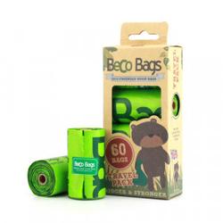 Beco Bags poepzakjes - 60 stuks  Per 3 verpakkingen