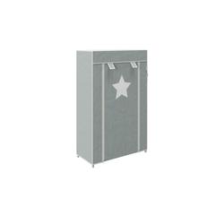 Roba Steck-Aufbewahrungsschrank  Little Stars ¦ grau
