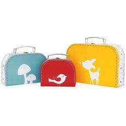 Kaloo Sammelkoffer Home Kofferset 3-teilig bunt Kinder Autorennbahnen Autos, Eisenbahn Modellbau