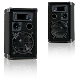 600 Watt Lautsprecherboxen PAAR 3-Wege Boxen PA-Lautsprecher Liston