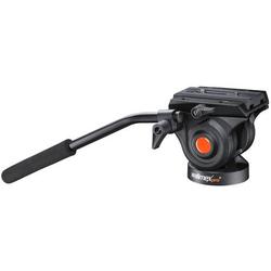 Walimex Pro Videoneiger für Video-Einbein-Stativ Einbeinstativ 1/4 Zoll, 3/8 Zoll Schwarz