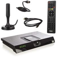 Xoro HRT 8720 KIT, Terrestrischer Receiver schwarz, DVB-T2, HDMI, FullHD