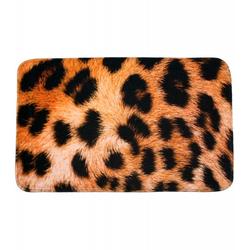 Badteppich Leopardenfell 70 x 110 cm