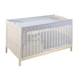 Insektenschutz für Kinderbetten, weiß
